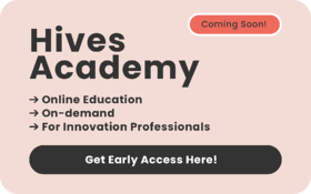 An online training hub with on-demand courses for Innovation Professionals