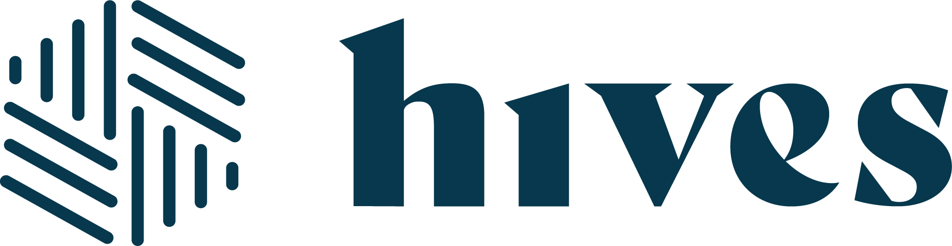 Hives Logo Horizontal Blue 1@4x