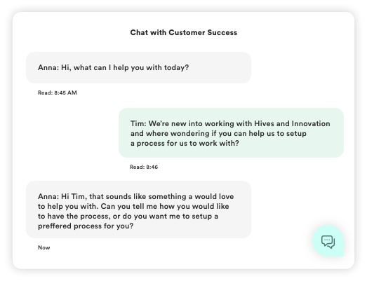 Chat support