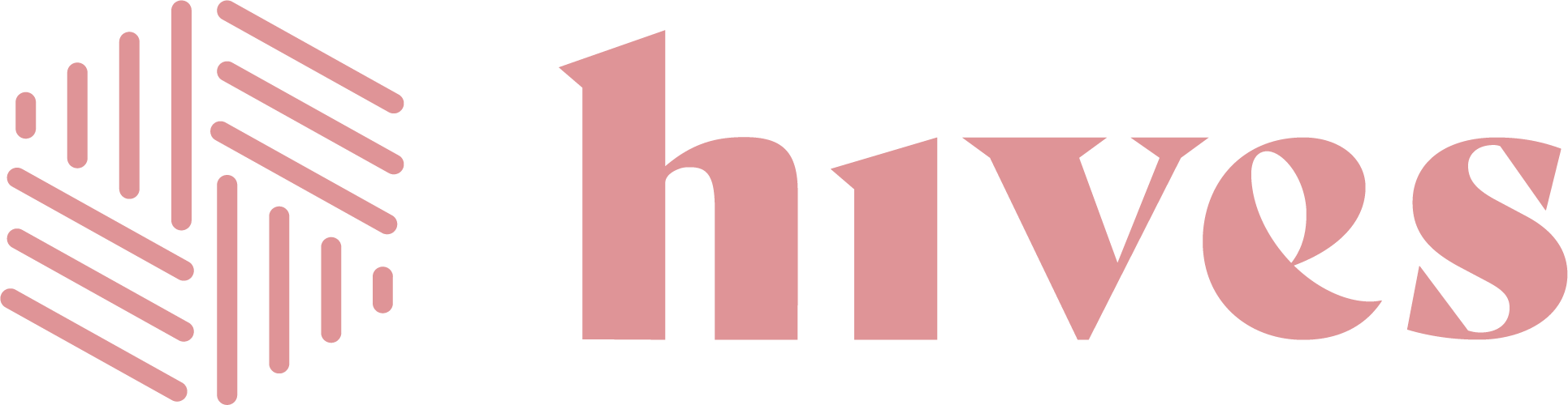 Hives Logo Horizontal Pink 1 @4x