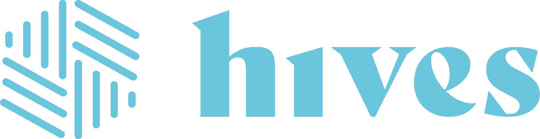 Hives Logo Horizontal Turquoise 1@3x